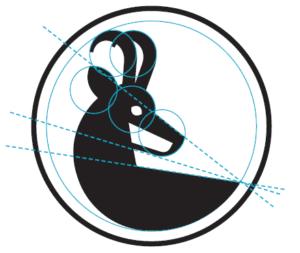 Construction du symbole de la Région de Nyon