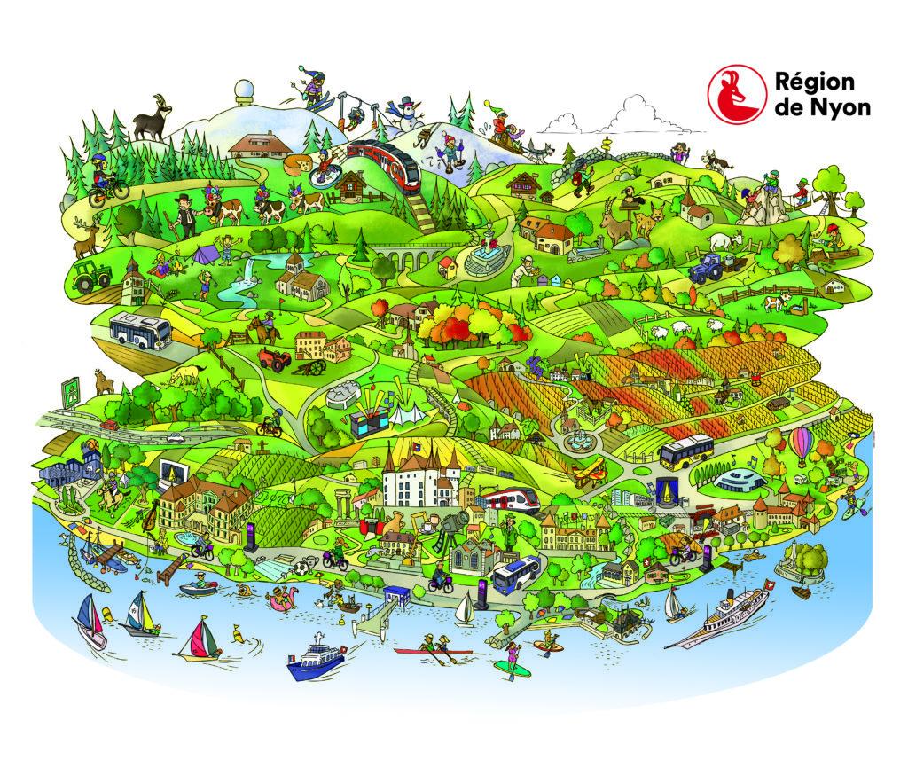 Illustration du district